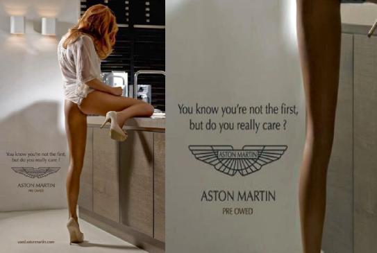 epic aston martin ad