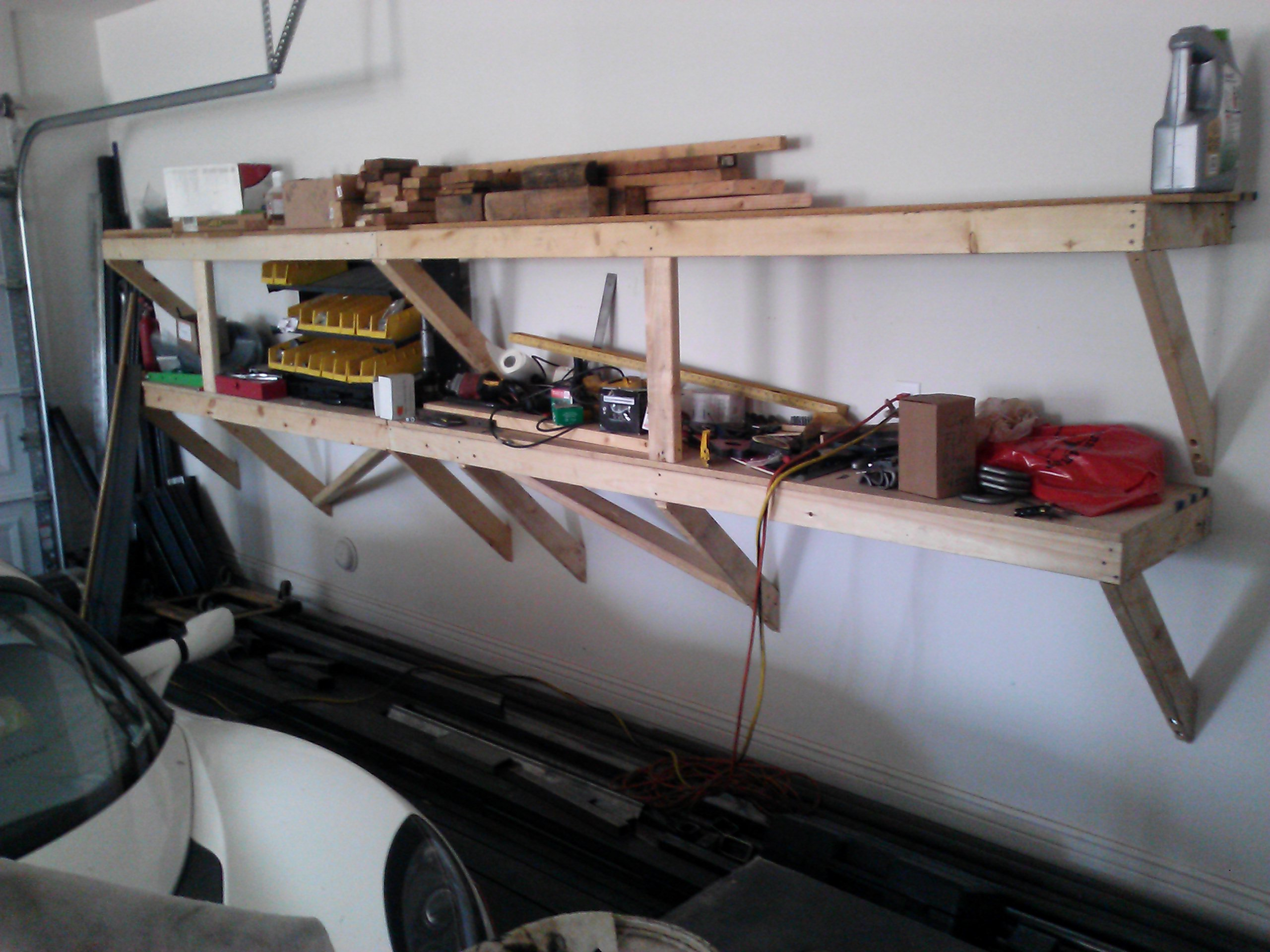 Recommendations for Decent Quality But Inexpensive Garage Shelves? & Recommendations for Decent Quality But Inexpensive Garage Shelves ...
