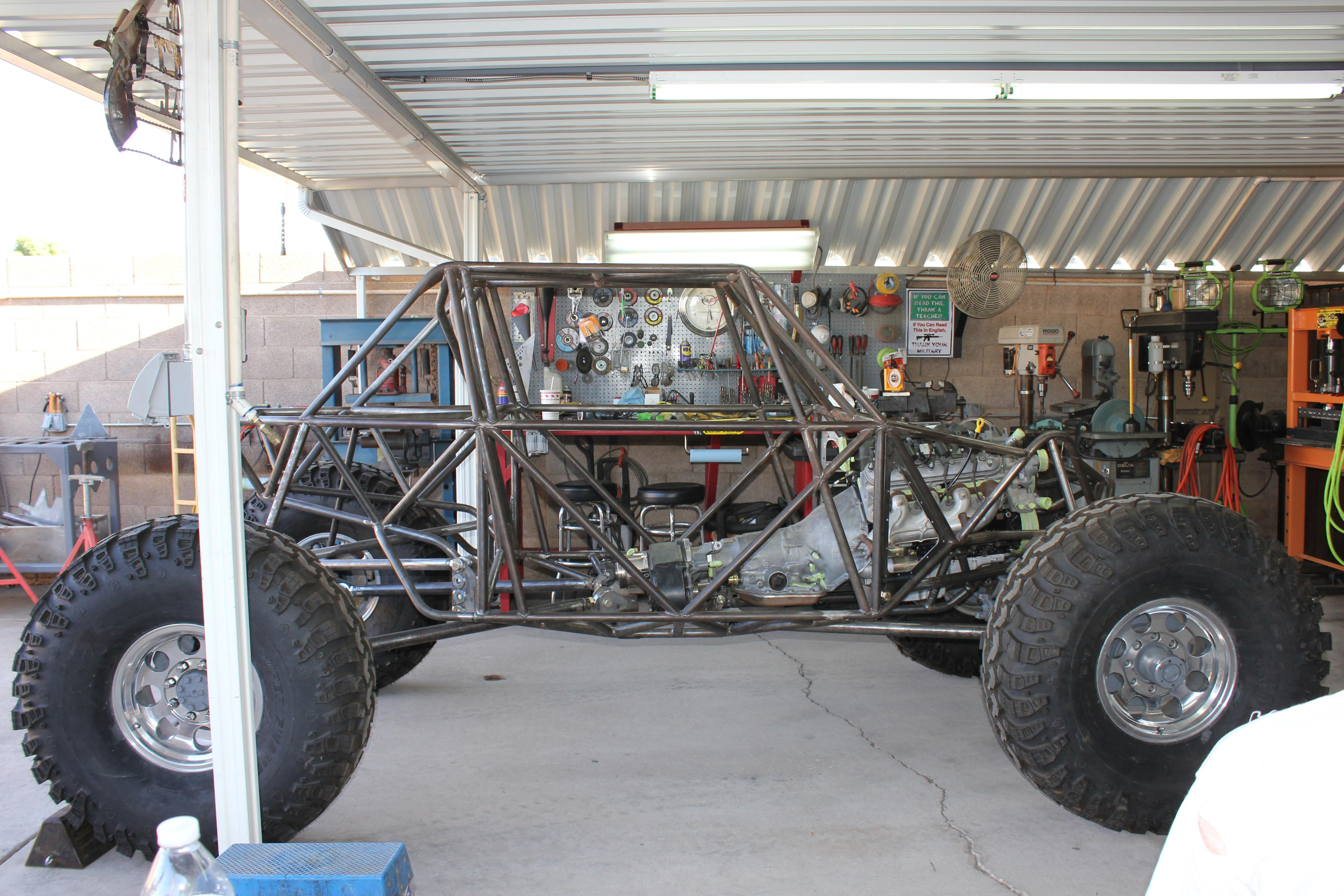 Fine Building A Tube Frame Chassis Image - Picture Frame Ideas ...