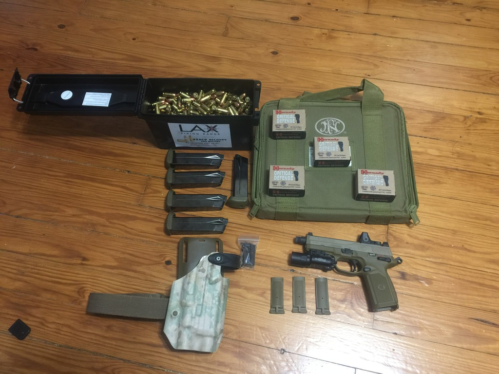 FN FNX-45 Tactical FDE w/ ammo, light, holster, and RMR!!!-img_2930_zpsggchdgcs.jpg