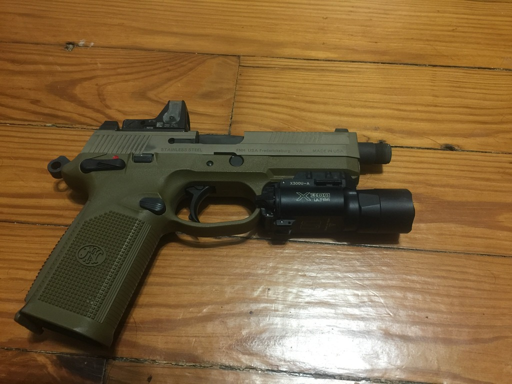 FN FNX-45 Tactical FDE w/ ammo, light, holster, and RMR!!!-img_2932_zpspirjtx6z.jpg