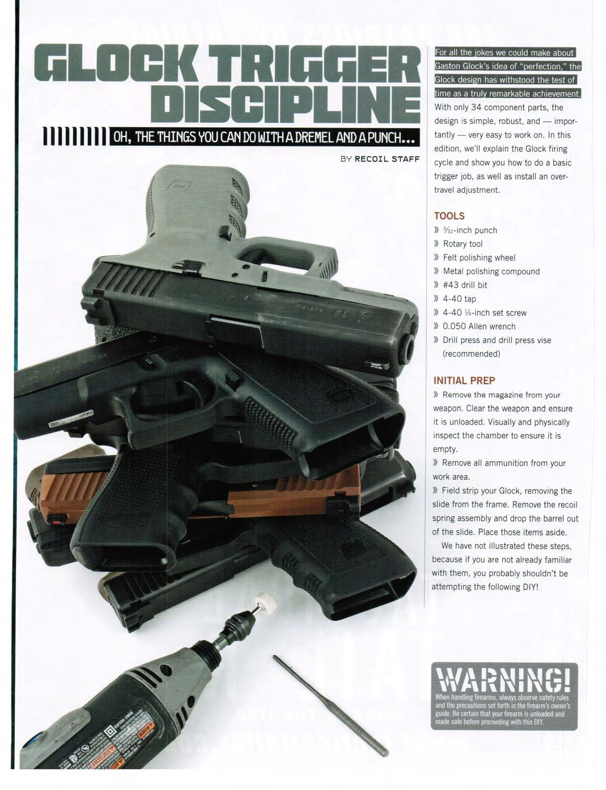GLOCK Trigger by RECOIL Magazine